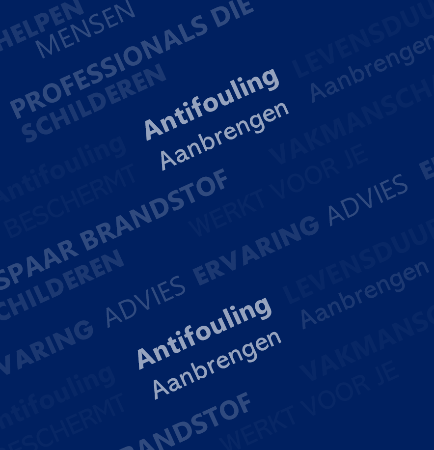 Antifouling aanbrengen